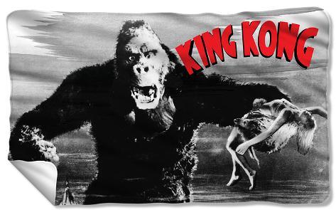 King Kong - Kong And Ann Fleece Blanket Fleece Blanket
