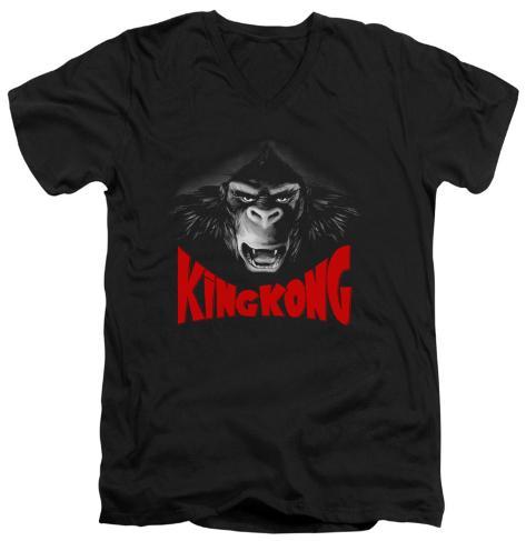King Kong - Kong Face V-Neck V-Necks