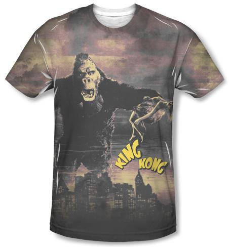 King Kong - Kong In The City Sublimated