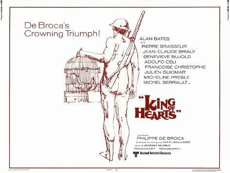 King of Hearts, 1967 Konstprint