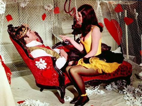 King Of Hearts, Alan Bates, Genevieve Bujold, 1966 Photo