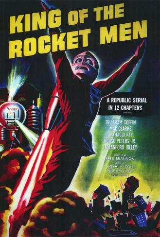 King of the Rocket Men Poster