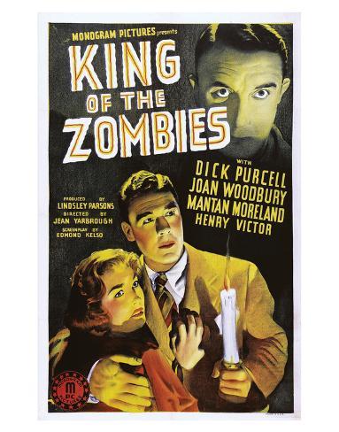King Of The Zombies - 1941 II Giclee Print