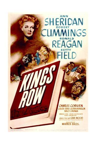 Kings Row - Movie Poster Reproduction Art Print