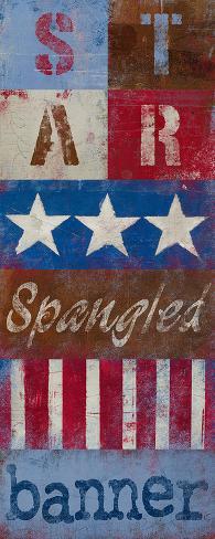 Star Spangled Banner Art Print