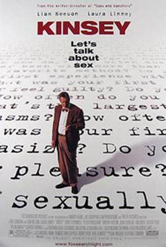 Kinsey: Vamos Falar de Sexo Pôster original
