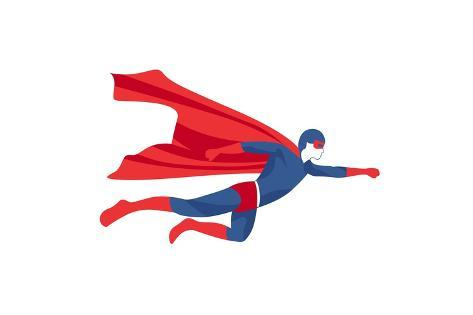 Superhero Icon Art Print