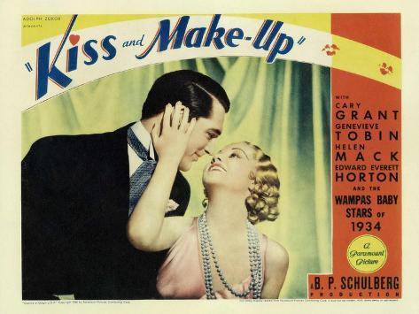 Kiss and Make-Up, 1934 Art Print