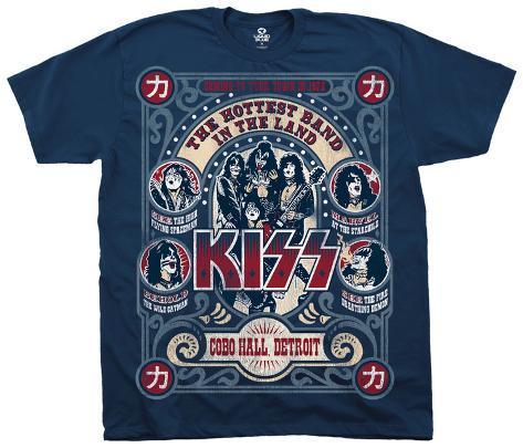 KISS- Cobo Hall T-Shirt