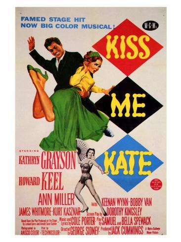 Kiss Me Kate, 1953 Art Print