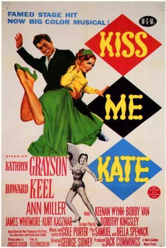 Kiss Me Kate Masterprint