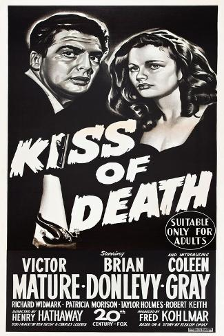 KISS OF DEATH アートプリント