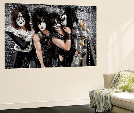 KISS Laminated Oversized Art
