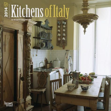 Kitchens of Italy - 2014 Calendar Calendars