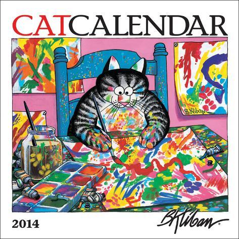 Kliban CatCalendar - 2014 Mini Calendar Calendars