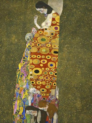 Klimt, Hope Impressão giclée