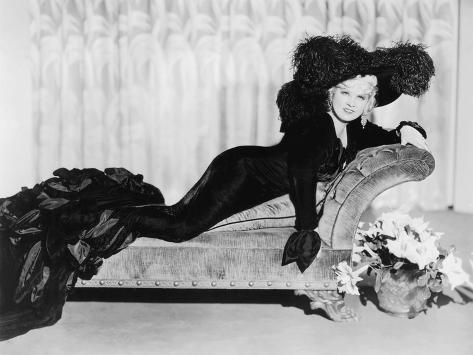 Klondike Annie, Mae West, 1936 Fotografía