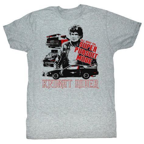 Knight Rider - Buff Stuff T-Shirt