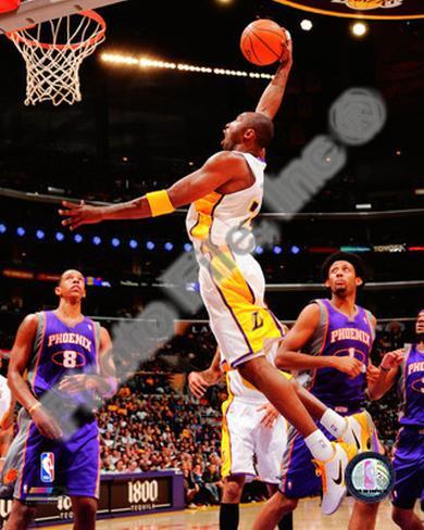 Kobe Bryant 2010-11 Action Photo