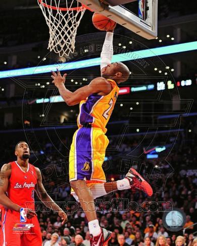 Kobe Bryant 2012-13 Action Photo