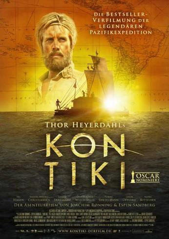 Kon-Tiki Movie Poster Impressão original