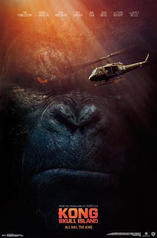 Kong: Skull Island- All Hail the King ポスター