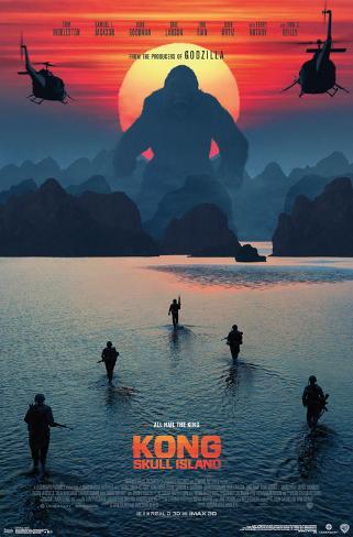 Kong: Skull Island- Beach Sunset (Apocalypse Now style) ポスター
