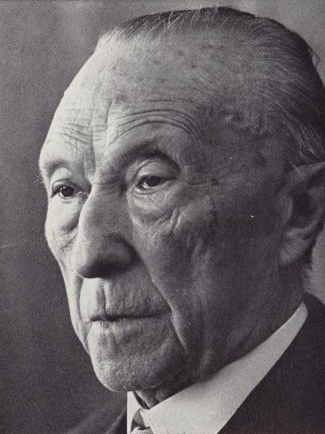 Konrad Adenauer Lámina fotográfica