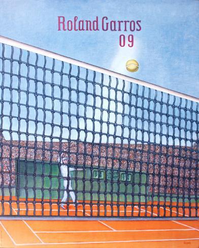 2009 Roland Garros Framed Art Print