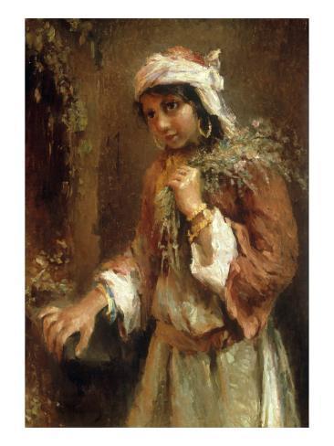 Gypsy Girl Lámina giclée