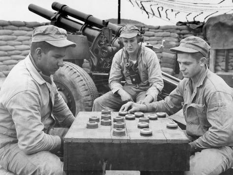 Korean War (1950-1953) Photographic Print