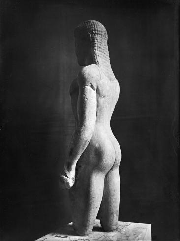 Kouros, from Paros, Near the Sanctuary of Asklepios, circa 540 BC Giclee Print