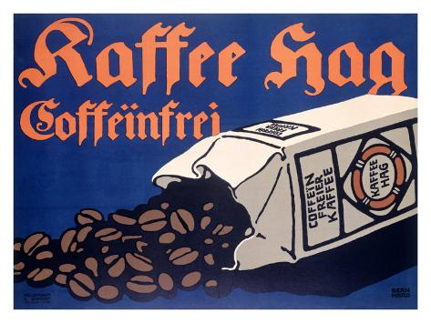 Kraft Hag Coffee Giclée-vedos
