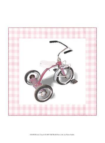 Krista's Tricycle Art Print