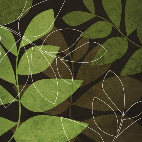 Fall Leaves I Art Print