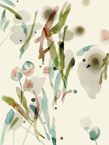 Floratopia - Leafy Giclee Print
