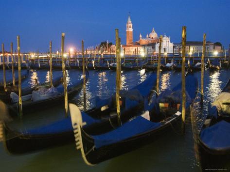 View Towards Chiesa di San Giorgio Maggiore, Venice, Italy Photographic Print