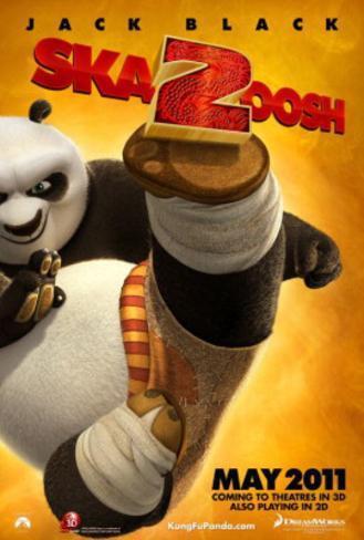 オールポスターズの kung fu panda 2 jack black movie poster 高