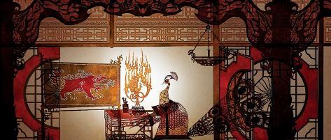 Kung Fu Panda 2: Lord Shen Early Giclee Print