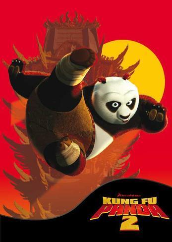Kung Fu Panda 2 Masterprint
