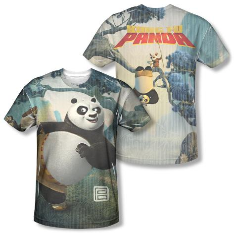 Kung Fu Panda - Training (Front/Back) Sublimated