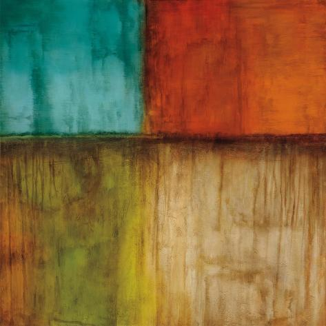 Spectrum I Stretched Canvas Print