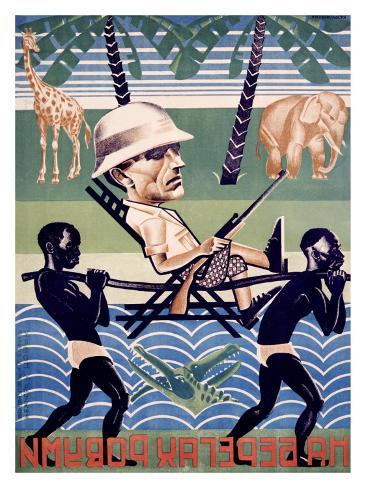 Na Beregakh Rovumi, on the Shores of the Ruvuma Giclee Print