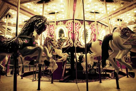 Fairground Carousel Photographic Print