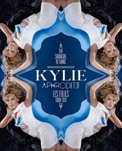 Kylie Aphrodite: Les Folies Tour 2011 Poster