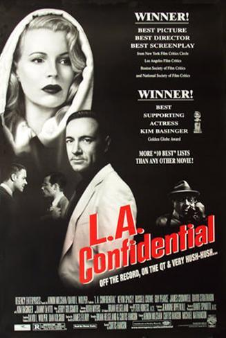 L.A. Confidential Double-sided poster