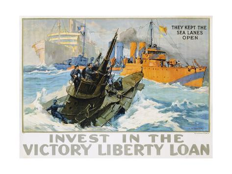 Invest in the Victory Liberty Loan Poster Giclee Print