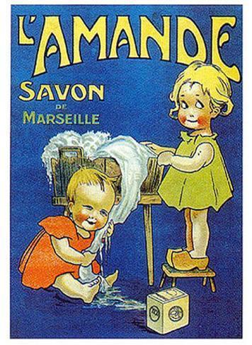 L'Amande Savon Art Print