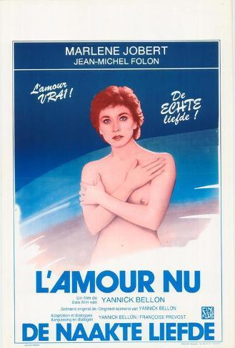 L'amour Nu Masterprint