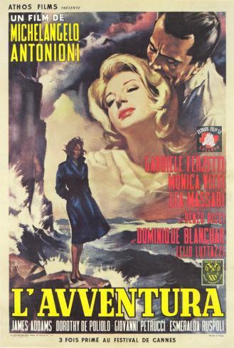 L'Avventura - Italian Style Poster